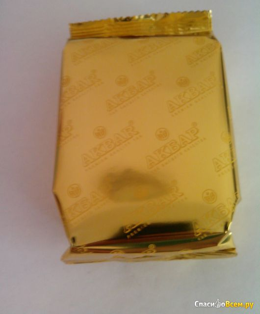 Чай черный байховый цейлонский Akbar Gold фото