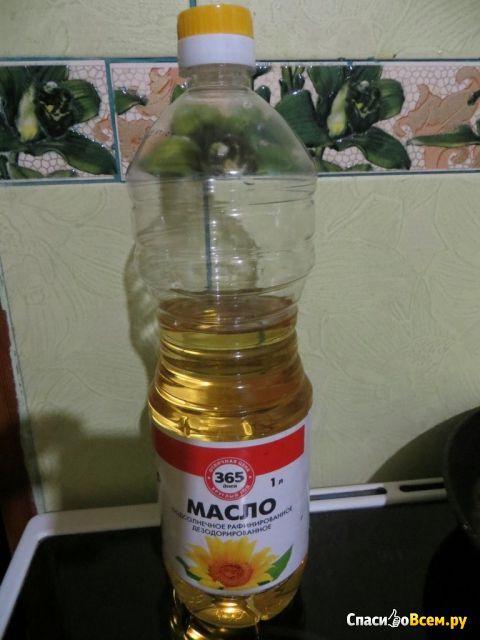 """Масло подсолнечное рафинированное """"365 дней"""" фото"""