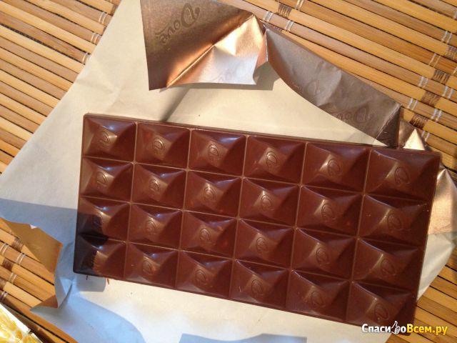 """Шоколад """"Dove"""" молочный с грецким орехом и грильяжем фото"""