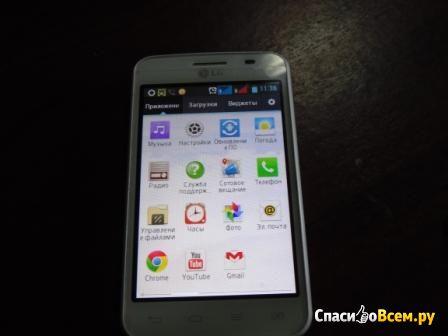Мобильный телефон LG Optimus L4 II Dual E445 фото