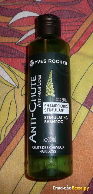 Стимулирующий шампунь от выпадения волос Yves Rocher Anti-Chute фото