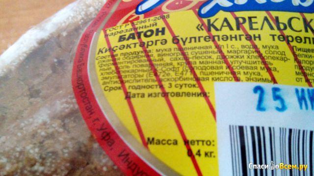 "Батон ""Карельский"" Уфимский хлеб фото"