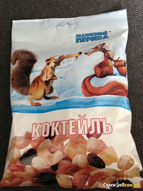 """Коктейль """"Ледниковый период"""" из орехов и фруктов фото"""