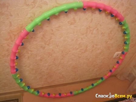 Массажный обруч Dynamic Health Hoop S фото