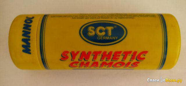 Искусственная замша для мойки и полирования Synthetic Chamois Mannol SCT фото