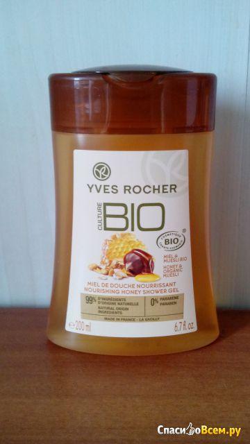 """Гель для душа Yves Rocher """"Мед и мюсли БИО"""" фото"""