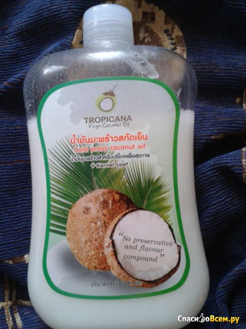 Масло кокосовое Tropicana Virgin Coconut Oil фото