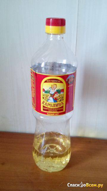"Подсолнечное масло Благо ""Каролина"" фото"
