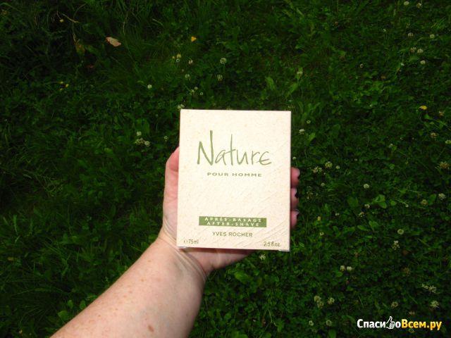 "Лосьон после бритья Yves Rocher ""Nature pour Homme"" фото"