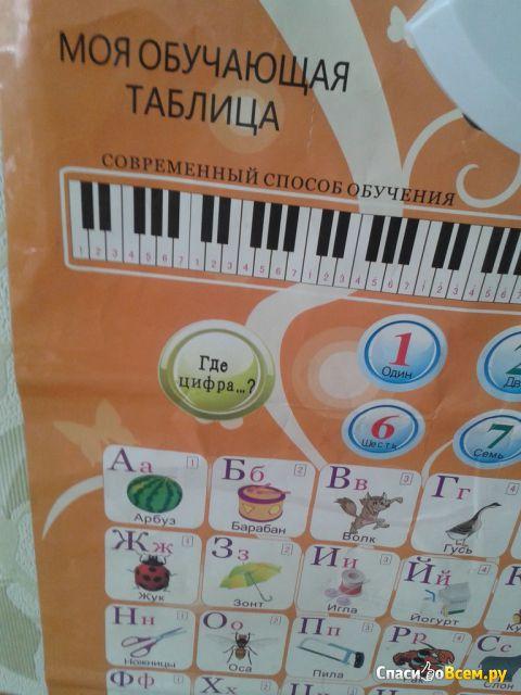 """Звуковой плакат """"Моя обучающая таблица"""" Кроха фото"""