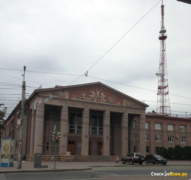 Дворец культуры железнодорожников (Челябинск, ул. Цвиллинга, д. 54) фото