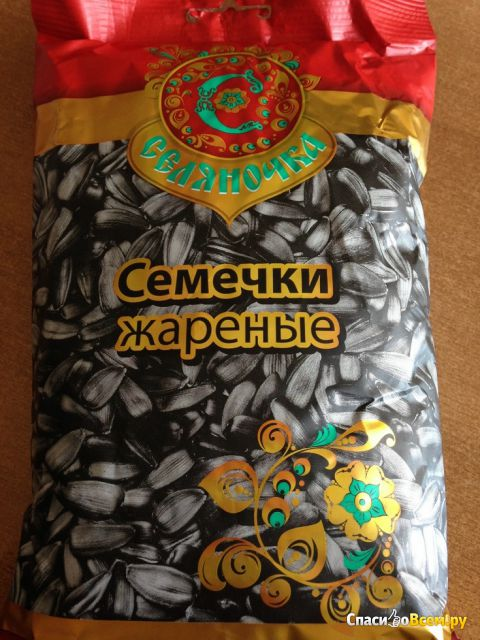 "Семечки подсолнечника жареные ""Селяночка"" фото"