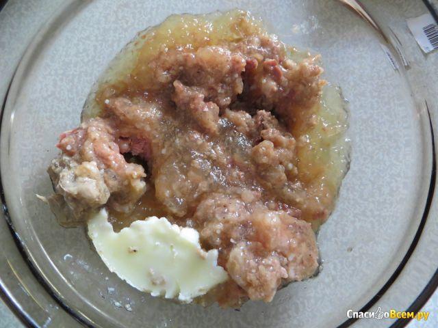 """Говядина тушеная высший сорт """"Курганский мясокомбинат"""" фото"""