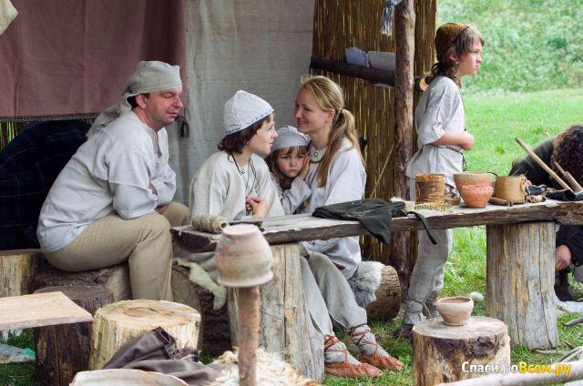 """Фестиваль """"Дни живой археологии"""" (Литва, Кярнаве) фото"""