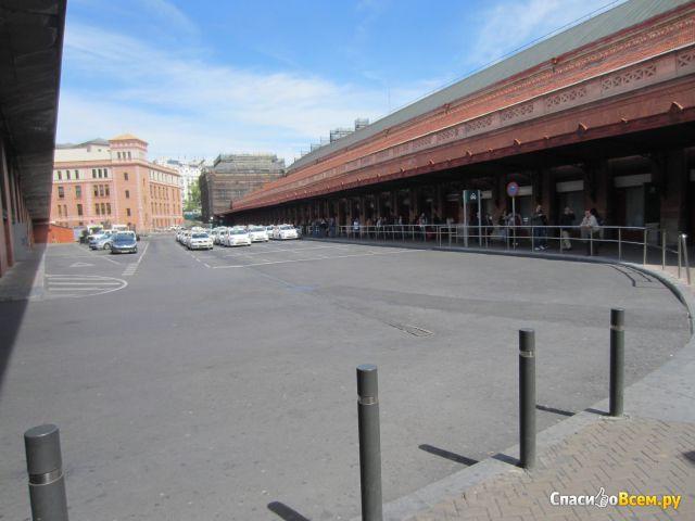 Вокзал Аточа в Мадриде (Испания) фото