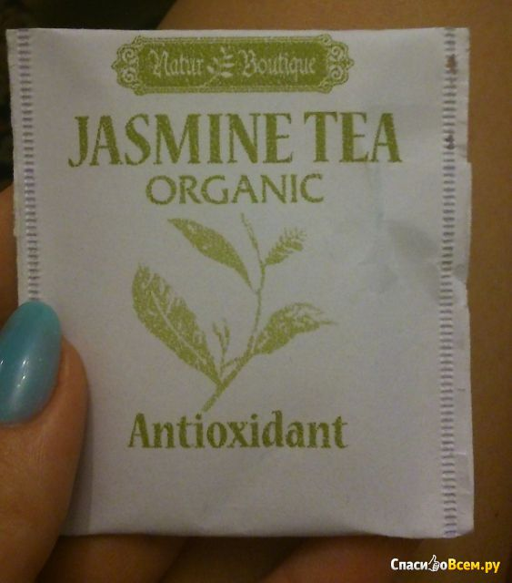 Зеленый чай Natur Boutique Jasmine Tea Organic Antioxidant фото