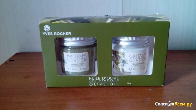"Набор-дуэт для тела ""Оливковое масло"" Yves Rocher фото"