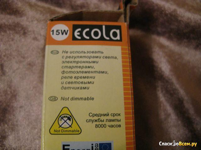 Энергосберегаюая лампа Ecola 15W 4000K фото