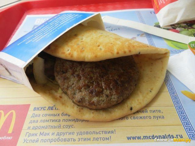 """Сэндвич """"Грик Мак"""" McDonald's фото"""