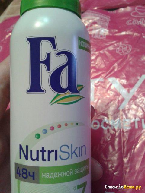 Дезодорант-антиперспирант Fa NutriSkin Natural Fresh фото