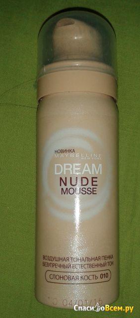 Тональная пенка для лица Maybelline Dream Nude Mousse фото