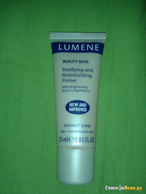 Матирующая и выравнивающая база для макияжа лица Lumene Beauty Base фото