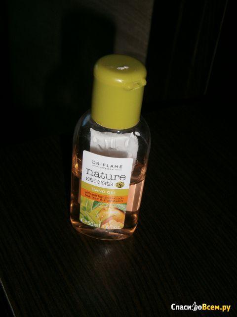 Антибактериальный гель для рук Oriflame Nature Secrets «Чайное дерево и мандарин» фото