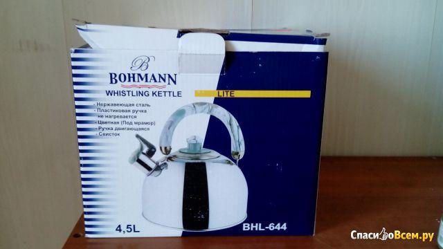 Чайник со свистком Bohmann BHL-644 фото