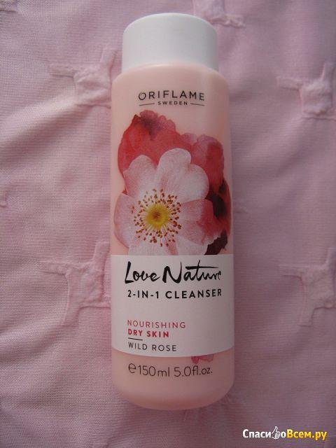 Очищающее средство 2-в-1 Oriflame Love Nature «Шиповник» фото