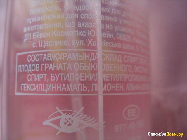 """Освежающий спрей для тела """"Гранат и манго"""" Avon фото"""