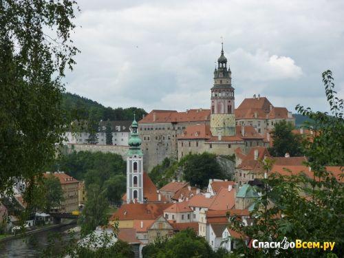 Город Чески Крумлов (Чехия) фото