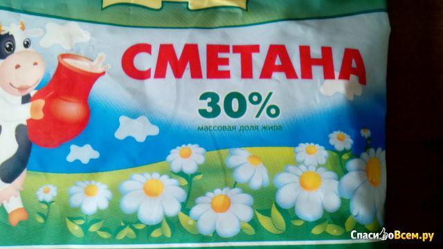 """Сметана """"Дарёнка"""" 30% фото"""