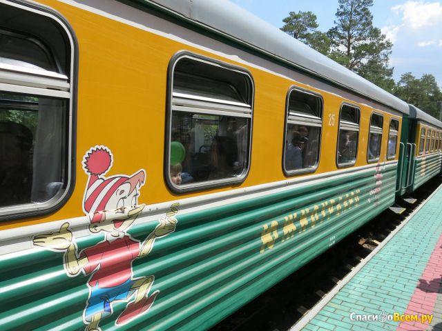 Детская железная дорога (Челябинск, ЦПКО им. Гагарина, ул. Коммуны, д. 122/1) фото