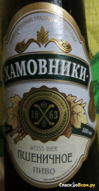 """Пиво """"Хамовники"""" Пшеничное фото"""