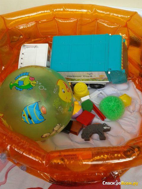 Надувной бассейн детский Bestway Kiddie Pool арт. 51034B
