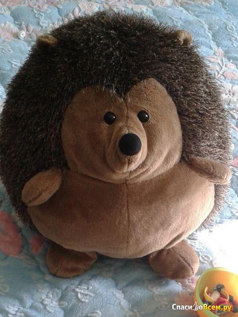 """Мягкая игрушка Gulliver """"Ёжик сидячий"""", 34 см фото"""