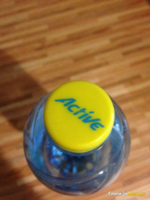 Негазированная питьевая вода Aqua Minerale Active лимон фото