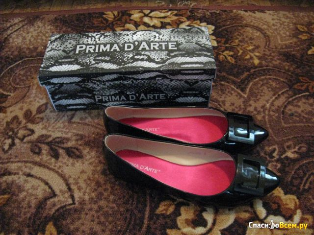 Женские балетки Prima D'Arte арт. 3J7155-5658A фото