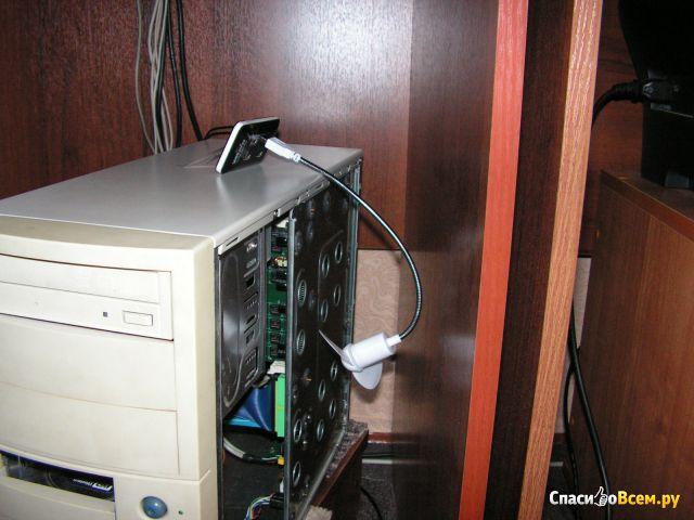 Мини-вентилятор USB Flash Fix Price фото