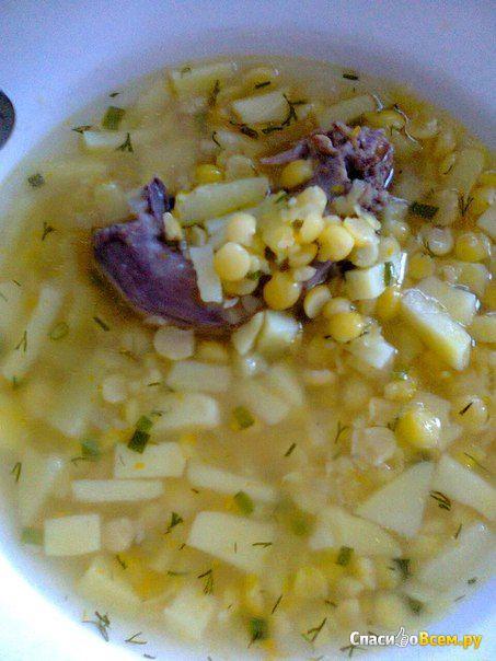 """Гороховый суп быстрого приготовления """"Скороварочка"""" фото"""