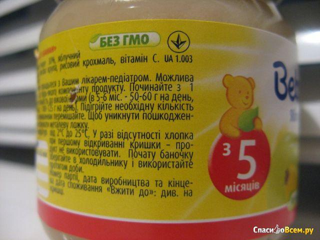 """Фруктовое пюре Bebivita """"Яблоко и банан"""" фото"""