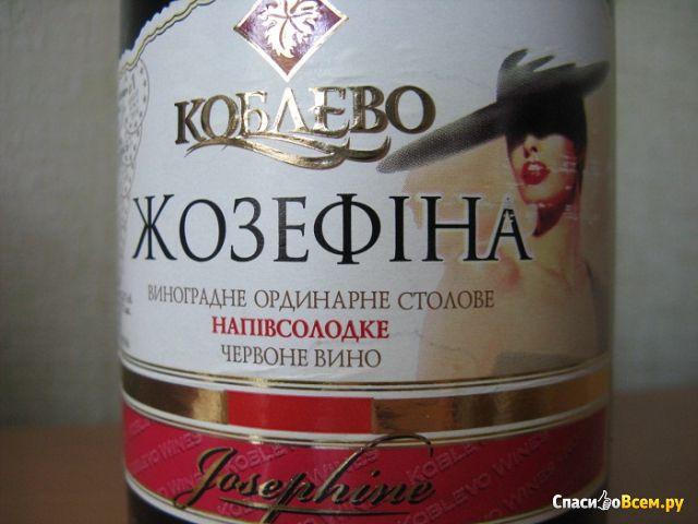 """Вино красное полусладкое Коблево """"Жозефина"""" фото"""