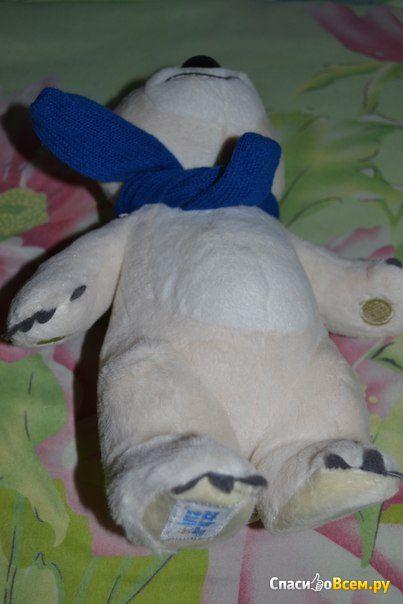 "Мягкая игрушка ""Белый Медведь"" Sochi 2014 арт. GT5569/K15089K"