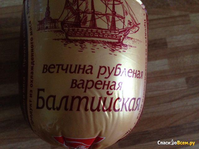 "Ветчина рубленая вареная ""Ромкор"" Балтийская фото"
