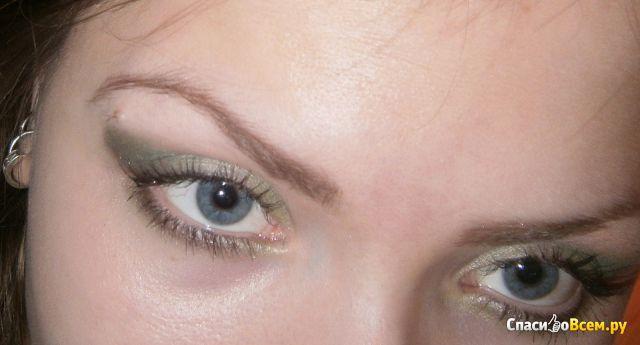 Тени для век Demini Sparkle eye shadow trio с витамином E фото