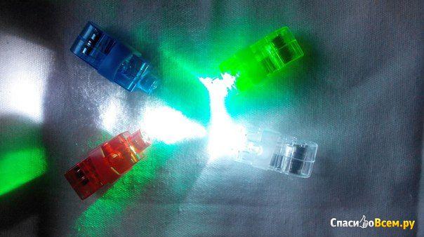 Светодиодные фонарики на пальцы Hengjin Led Finger Beams арт. zd135 фото