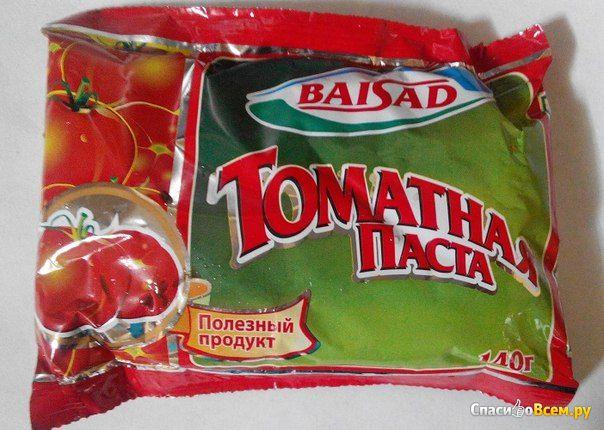 """Томатная паста """"Baisad"""" фото"""