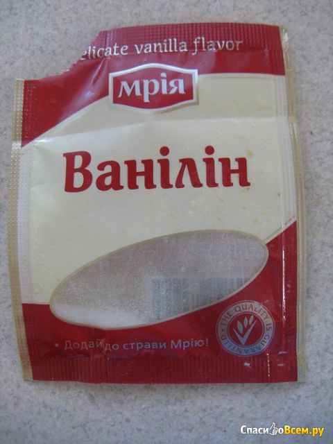 """Ванилин """"Мрия"""" фото"""