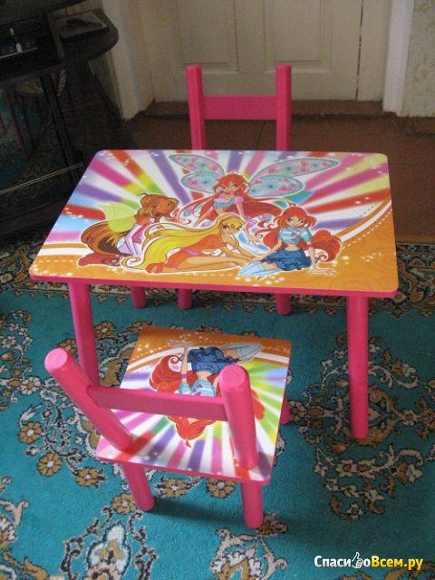 "Набор детской мебели стол и стулья ""Kids Table And Chair Set"" арт. 2547-33 фото"