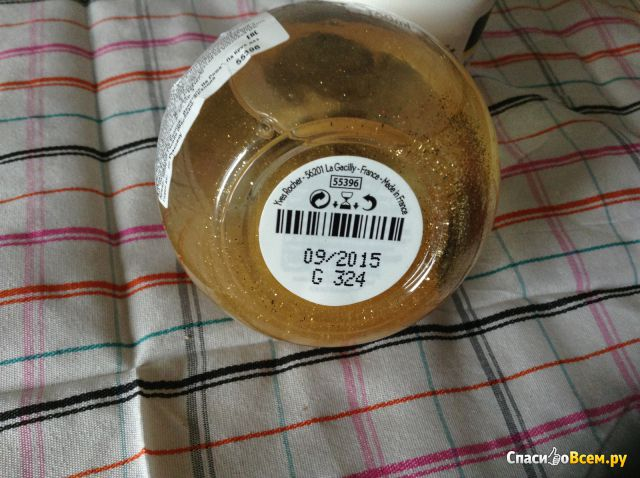 "Масло для тела с блестками Yves Rocher ""Какао-апельсин"" фото"